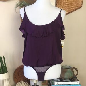 Free People Not Tired bodysuit NWT S